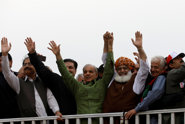 opposition parties to form a unified front