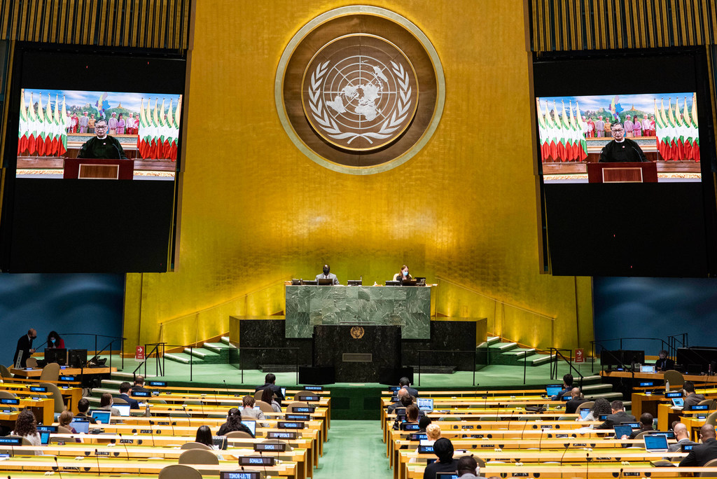 unga adopts pak sponsored resolution calling for respecting sacred religious symbols