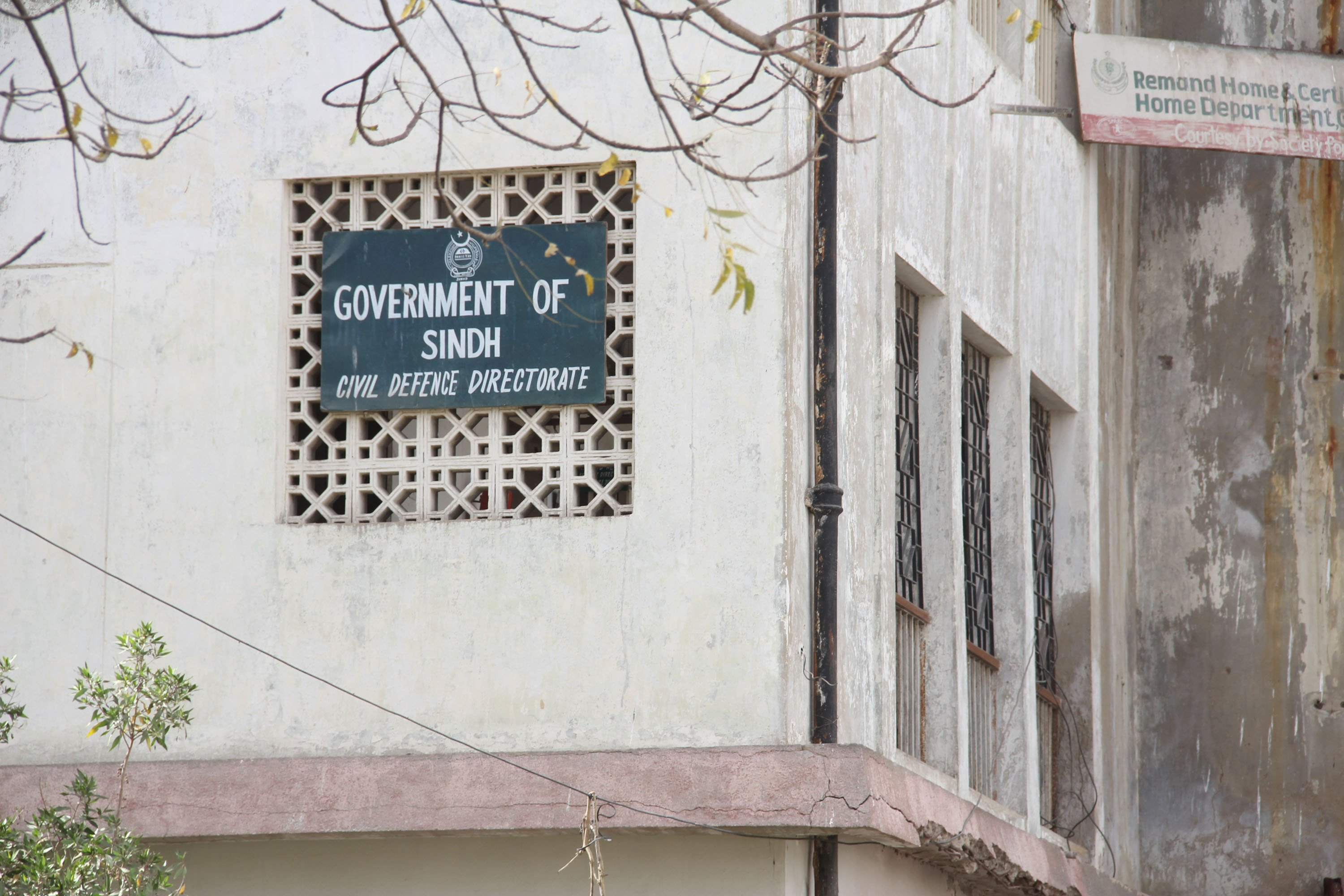 hung out to dry no funds equipment for sindh s civil defence