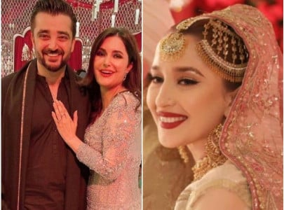 internet confuses hamza ali abbasi s sister sister in law for katrina madhuri