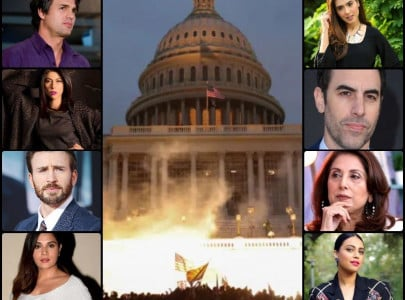 coup attempt us capitol riots leave celebrities in shock