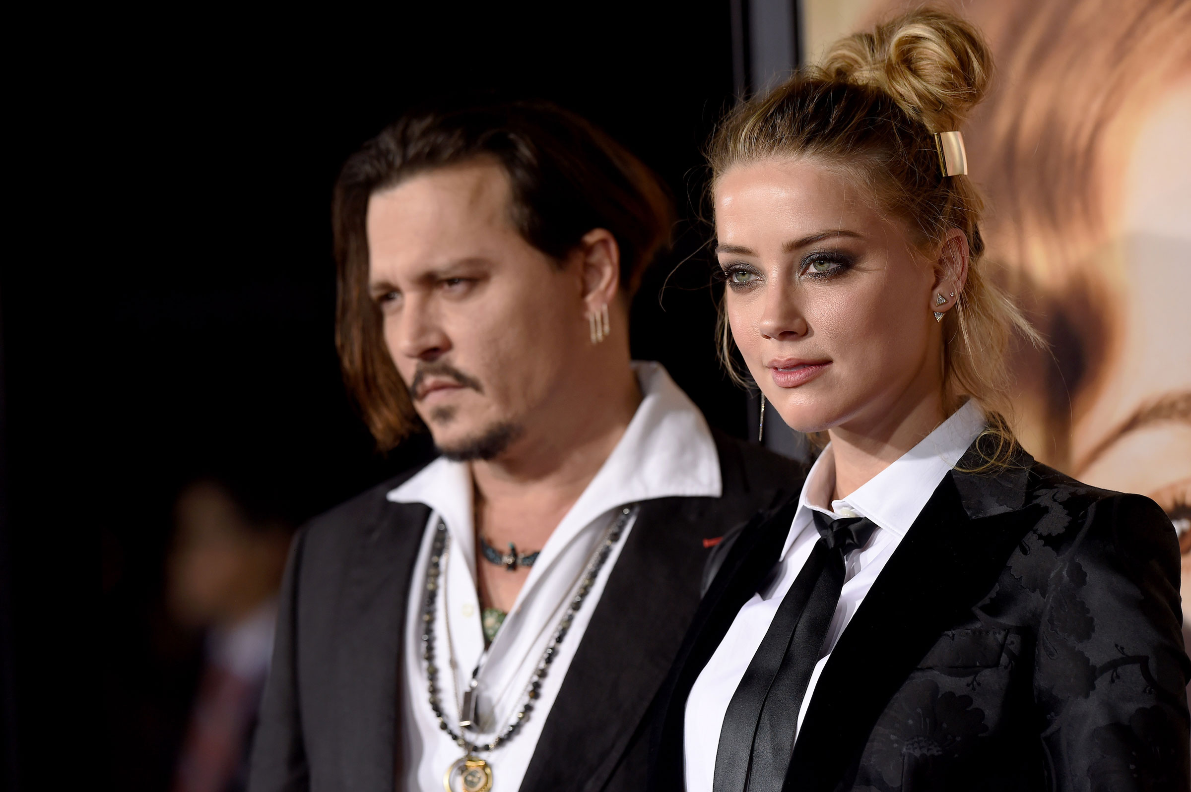 Former couple Johnny Depp and Amber Heard. PHOTO: REUTERS