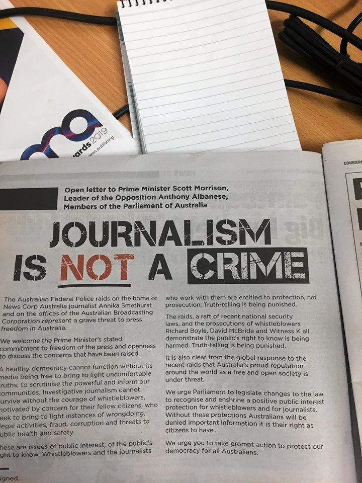 journalism is not a crime photo afp