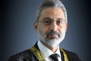 supreme court judge justice qazi faez isa photo file