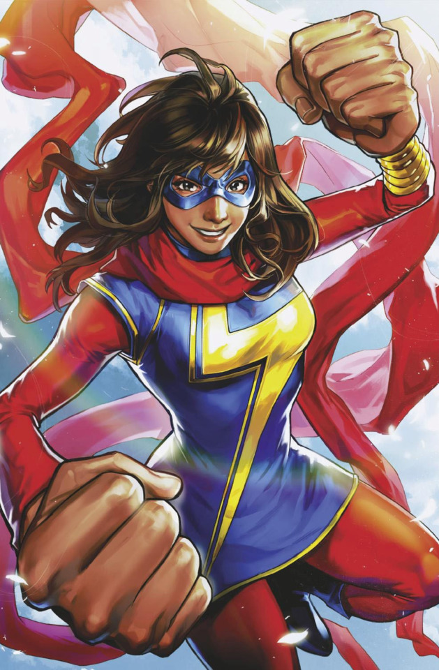 pakistani american superhero kamala khan to feature in latest game