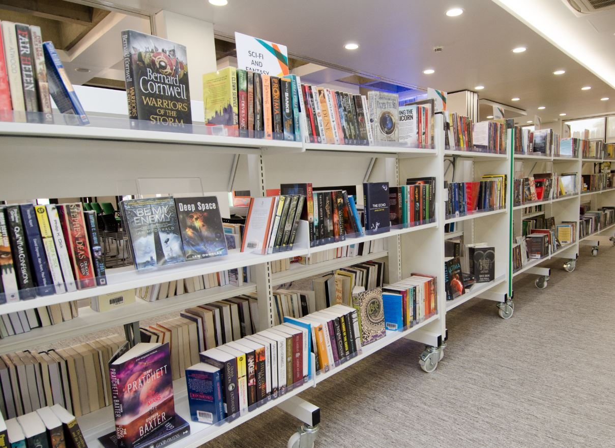 The British Council Library orders 500  new books every two months. PHOTO: BRITISH COUNCIL