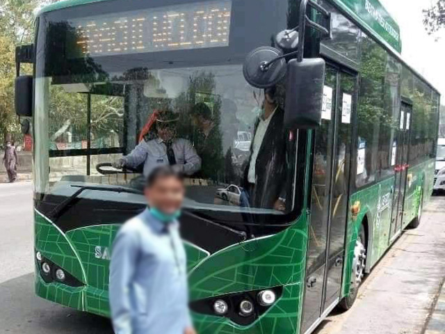 the electric bus will run from tower to sohrab goth and the fare for one stop will be as low as rs10 photo social media