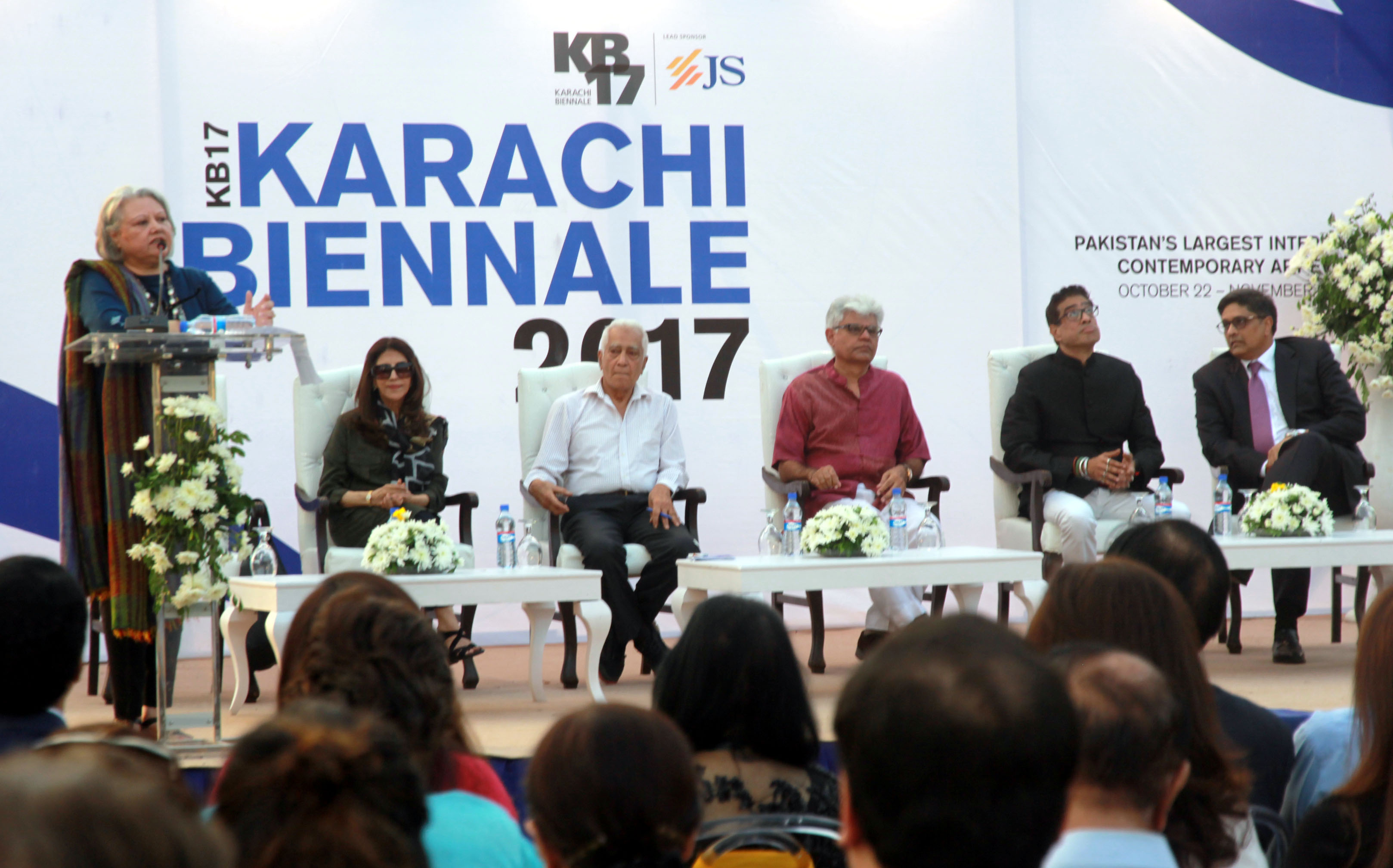 farrukh said the people embraced the biennale encouraging us to bring new surprises as part of the next biennale in two years photo athar khan express