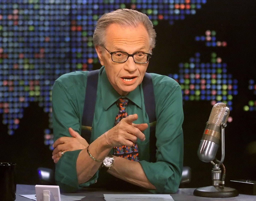 Talk show host Larry King hospitalized after testing positive for COVID-19