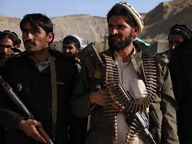 more than 400 residents of the pachir agham district have raised their weapons to fight against daesh photo afp