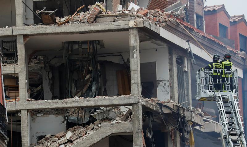 Building collapses in central Madrid explosion, several injured: Report