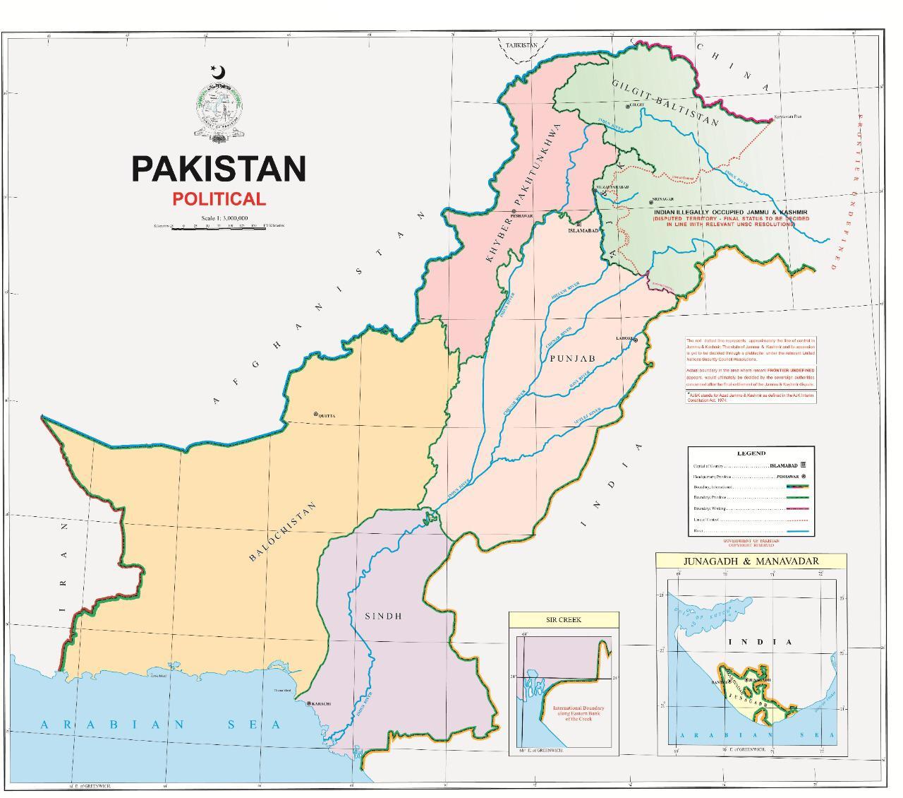 PM Imran unveils new 'political map' of Pakistan | The Express Tribune
