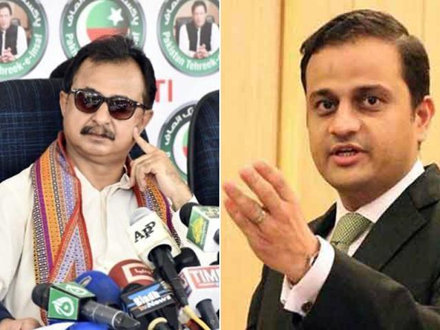 haleem adil sheikh and murtaza wahab file photos