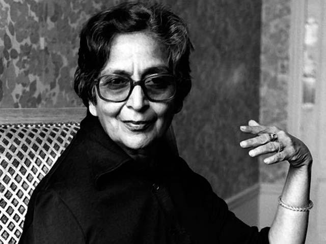 amrita pritam indian writer in paris in 1983 photo afp