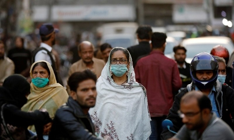 pakistan recorded its highest single day tally of coronavirus cases in 10 months with 6 127 fresh cases reported in a day photo reuters file