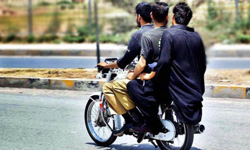 pillion riding banned across sindh