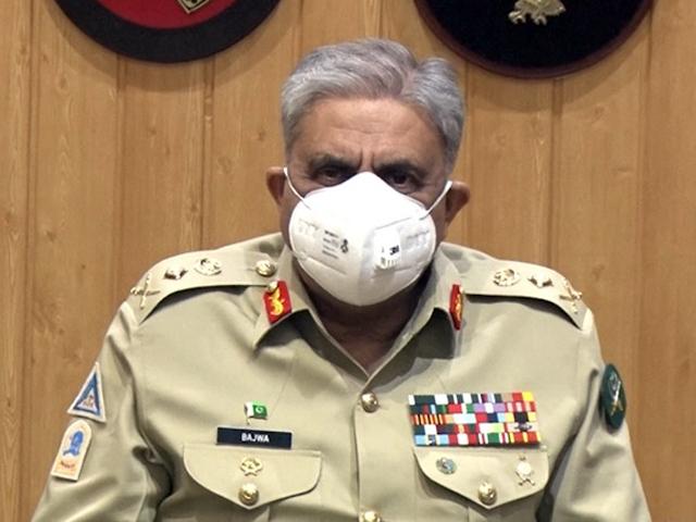 military to ensure security of civilian population along loc gen qamar