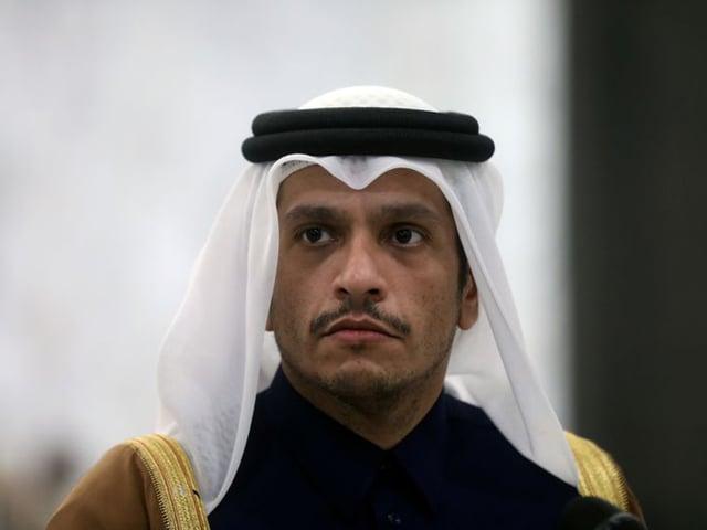 qatar foreign minister sheikh mohammed bin abdulrahman al thani photo reuters file