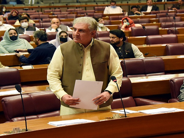 Qureshi hopes Joe Biden will play role in resolving Kashmir issue