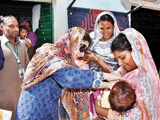 ayesha raza farooq dedicates her sitara e imtiaz to heroic efforts of polio teams