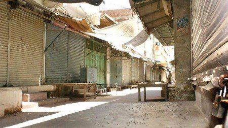 traders goods transporters observe strike in lahore