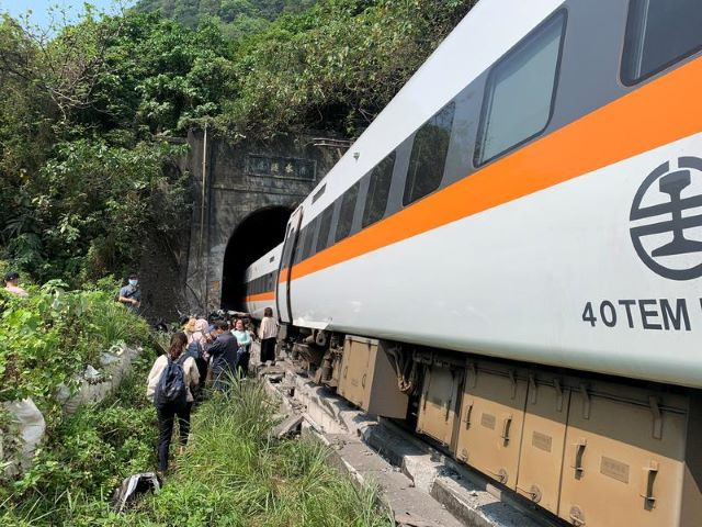Taiwan train crash: At least 34 dead and dozens injured