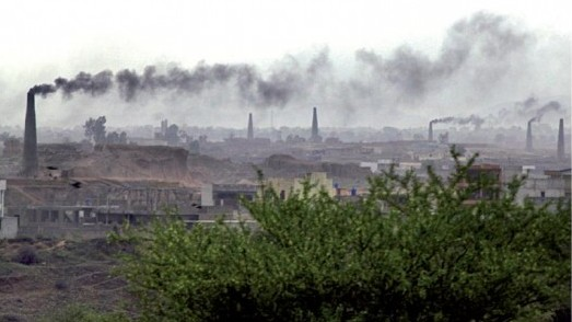 pollution on the rise in capital