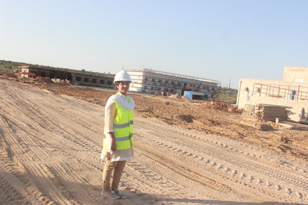 kiran sadhwani is the only female engineer working at the thar coal fields photo courtesy deepak akash