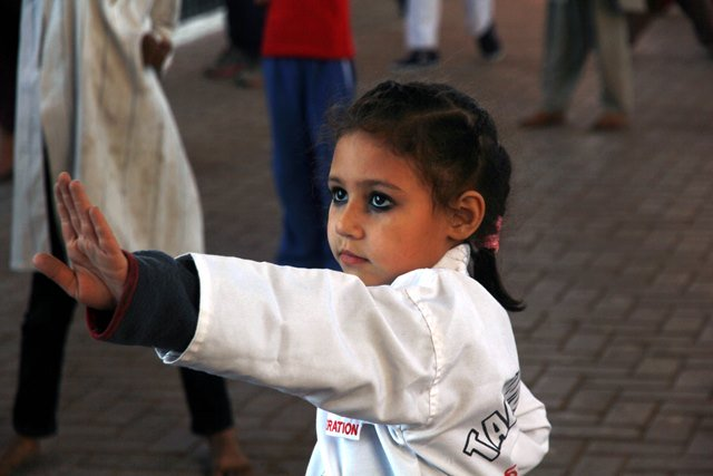 Street children are often more vulnerable to sexual predators, say organisers. PHOTO: ATHAR KHAN/EXPRESS